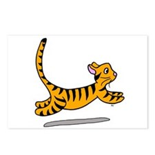Tiger Striped Cat Postcards (Package of 8)