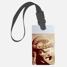 Tragic and comic theatrical mask Luggage Tag