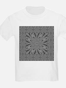 Gray Flower T-Shirt