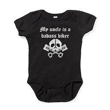 My Uncle Is A Badass Biker Baby Bodysuit