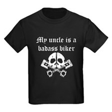 My Uncle Is A Badass Biker T-Shirt