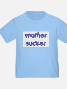 Mother Sucker: Baby Blue T