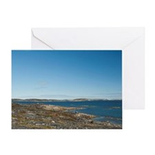 Legislative capital of the Inuit Lan Greeting Card