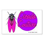 Cicada Couture P07 Rectangle Sticker