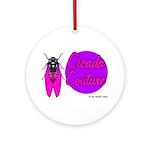 Cicada Couture P07 Ornament (Round)