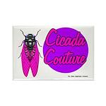 Cicada Couture P07 Rectangle Magnet