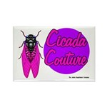 Cicada Couture P07 Rectangle Magnet (100 pack)