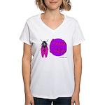 Cicada Couture P07 Women's V-Neck T-Shirt