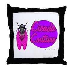 Cicada Couture P07 Throw Pillow