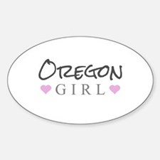 Oregon Girl Decal