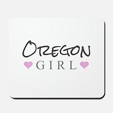 Oregon Girl Mousepad
