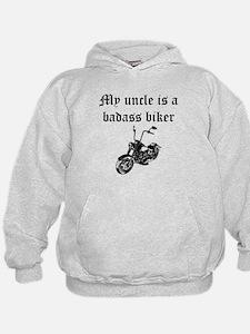 My Uncle Is A Badass Biker Hoodie