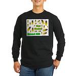 What Cicada Long Sleeve Dark T-Shirt