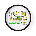 What Cicada Wall Clock