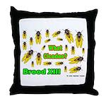 What Cicada Throw Pillow