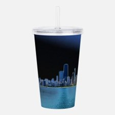 Diffuse Glow Chicago Acrylic Double-wall Tumbler