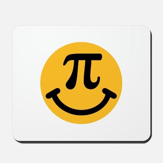 Pi Smiley Mousepad