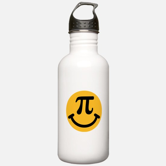 Pi Smiley Water Bottle