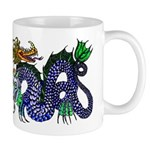 Fire Drake and Sea Serpent Mug