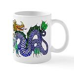 Fire Drake and Sea Serpent Mug