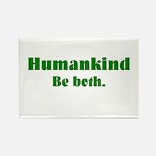 Human Kind Rectangle Magnet (100 pack)