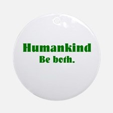 Human Kind Ornament (Round)