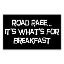 """Road Rage Sticker (3"""" x 5"""")"""