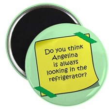 Angelina Refrigerator Magnet Magnets