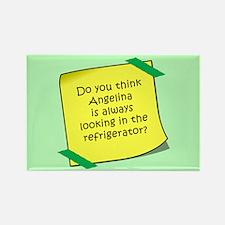 Angelina Refrigerator Magnet Magnets