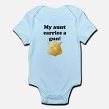 My Aunt Carries A Gun Police Body Suit