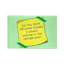 Michelle Obama Refrigerator Magnet Magnets