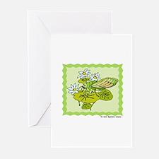 Dainty Cicada Greeting Cards (Pk of 10)