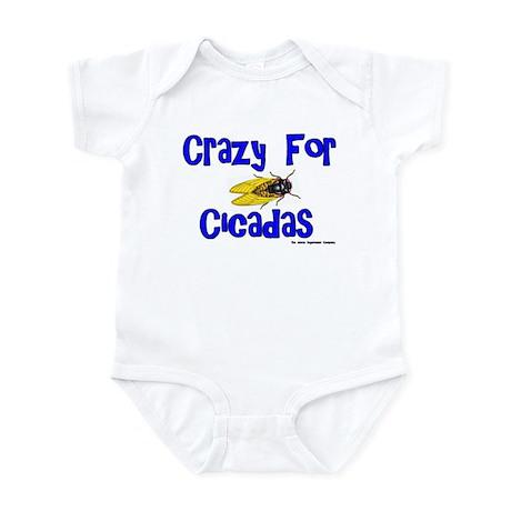 Crazy for Cicadas Infant Bodysuit