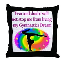 BLESSED GYMNAST Throw Pillow