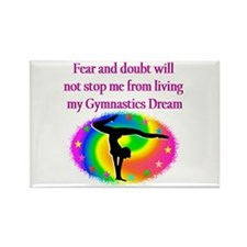 BLESSED GYMNAST Rectangle Magnet (10 pack)