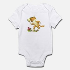 CAT AND BUTTERFLY Infant Bodysuit