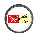 God's Gift To Men Wall Clock