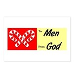 God's Gift To Men Postcards (Package of 8)