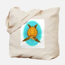 Happy Sea Turtle Tote Bag