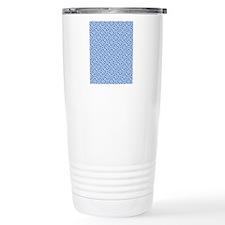 Greek Key Pattern Travel Mug