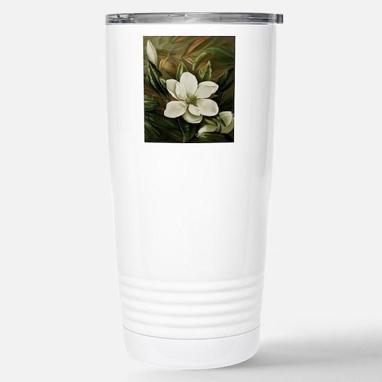 Magnolia Stainless Steel Travel Mug