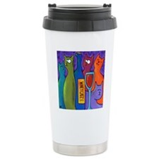 Winey Catz Stainless Steel Travel Mug