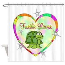 Turtle Lover Shower Curtain