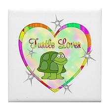 Turtle Lover Tile Coaster