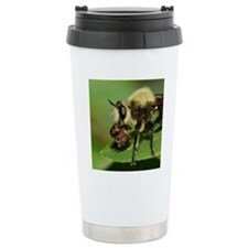 Robber Fly with Lunch Travel Mug