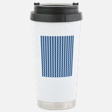UNC Basketball Argyle C Stainless Steel Travel Mug