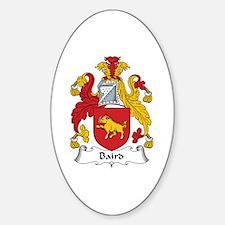 Baird Oval Decal