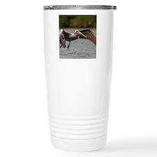 Pelican in Flight Travel Mug