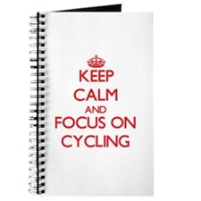 Cute Keep calm cycle on Journal