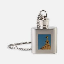 Mississippi State Capitol dome, Jac Flask Necklace